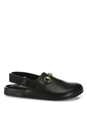 2334920251 GUCCI River Leather Clogs. #gucci #shoes #clogs | Gucci Men ...