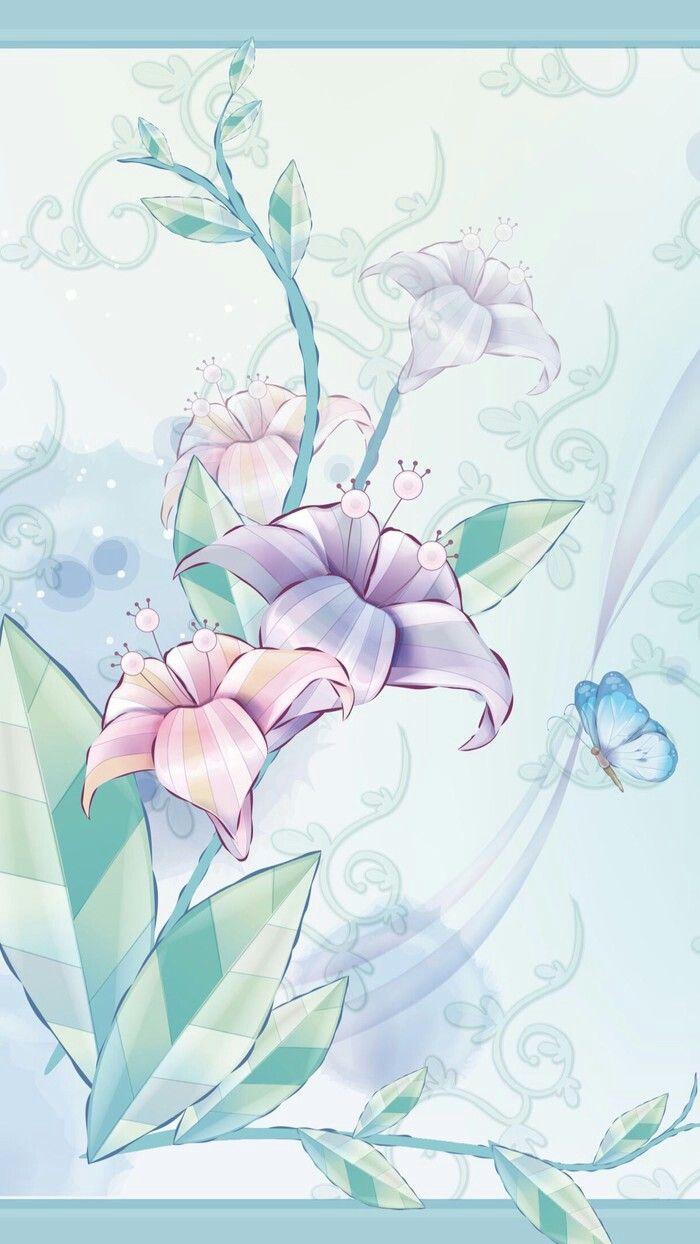 Floral   Flowery wallpaper, Colorful wallpaper, Flower art