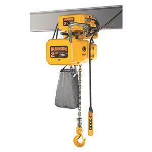 Sner Electric Chain Hoist W Push Trolley 1 2 Ton 20 Lift 7 Ft Min By Harrington Hoists Crane 2139 00 The Sne House Materials Hoist Material Handling