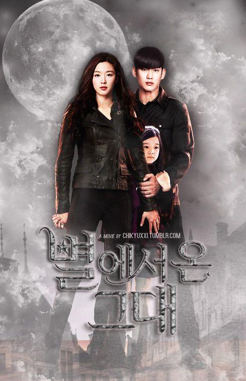 Kim Soo Hyun And Jeon Ji Hyun Cute Fan Arts Kim Soo Hyun My Love From Another Star My Love From The Star