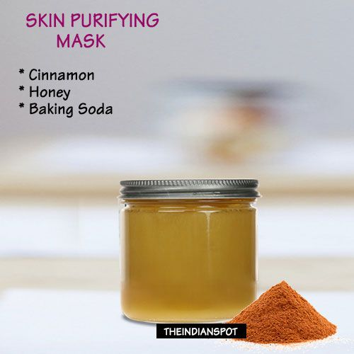 Diy Volcanic Acne And Skin Cleansing Face Mask: DIY: Skin Purifying Mask With Cinnamon Facial