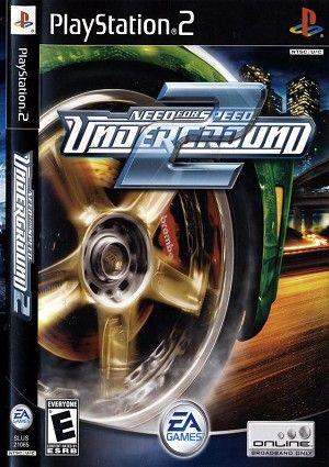 Download Game Ppsspp Underground 2 : download, ppsspp, underground, Speed, Underground, Playstation, Games,
