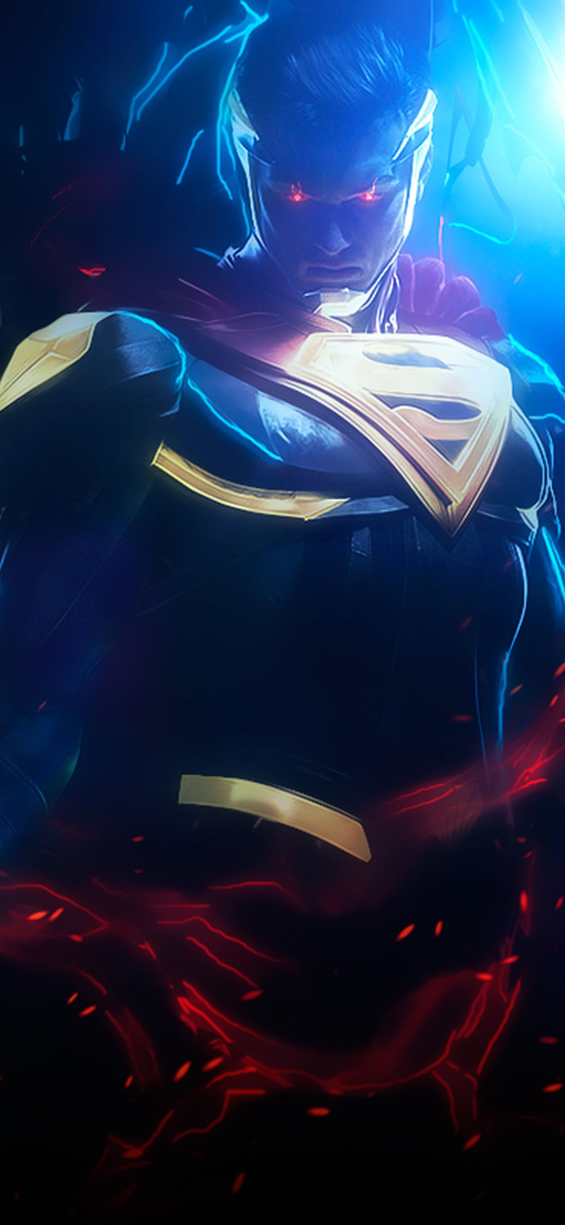 1125x2436 Superman Injustice 2 Art Iphone Xs Iphone 10 Iphone X Hd