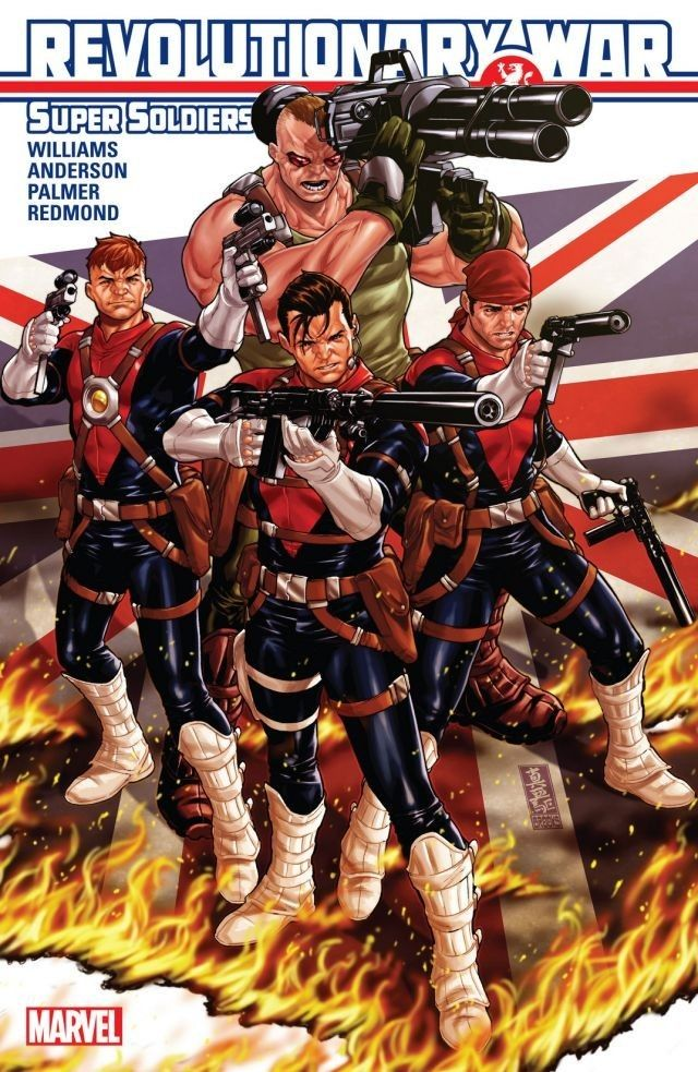 Revolutionary War: Supersoldiers #1 #Marvel #RevolutionaryWar #Supersoldiers (Cover Artist: Mark Brooks) On Sale: 2/26/2014