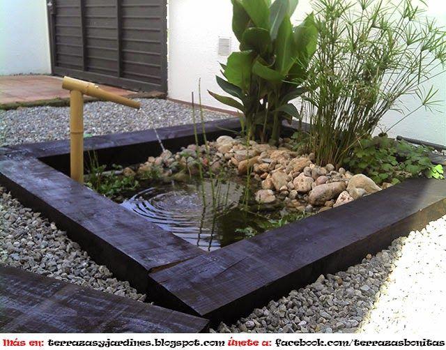 Dise o de jardines acu tico terrazas y jardines fotos for Diseno de jardines zen