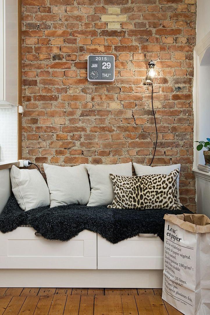 pisos pequeños nórdicos pisos 40 metros diseño estudio de 46 m² ...