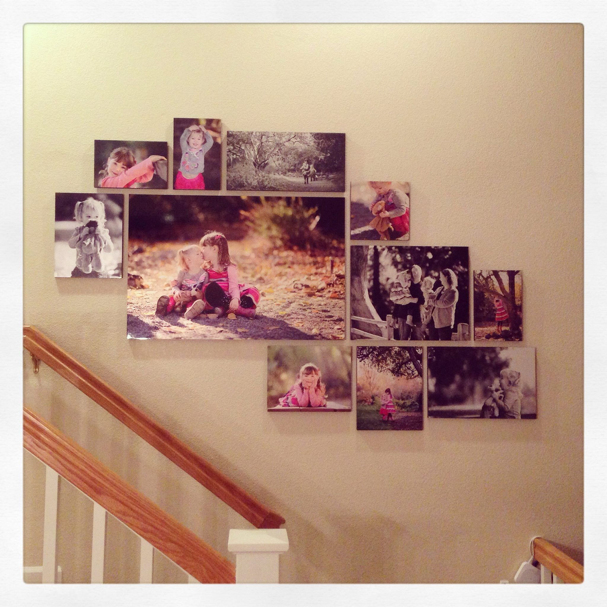 Standout Mounts printed on metallic paper -- ranging from 8x12\