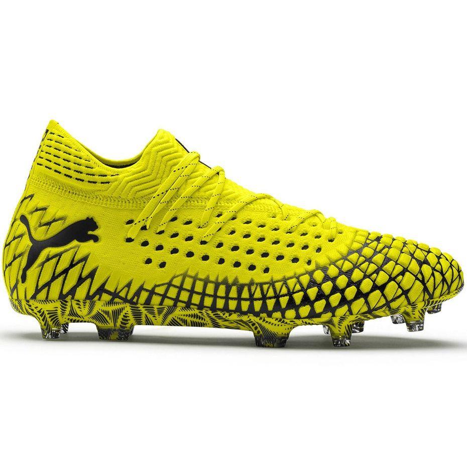 Buty Pilkarskie Puma Future 4 1 Netfit Fg Ag Zolto Czarne 105579 03 Zolte Zolte In 2021 Soccer Boots Football Boots Puma