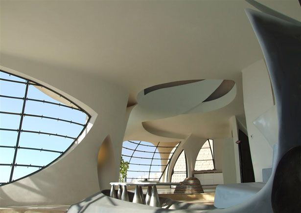 Biomorphic House by Pavie Architects   Civil Engineering and Arch.