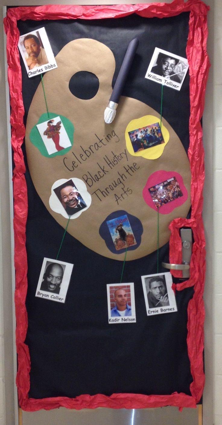 Black History Door African American Artist Make Themed Door Display