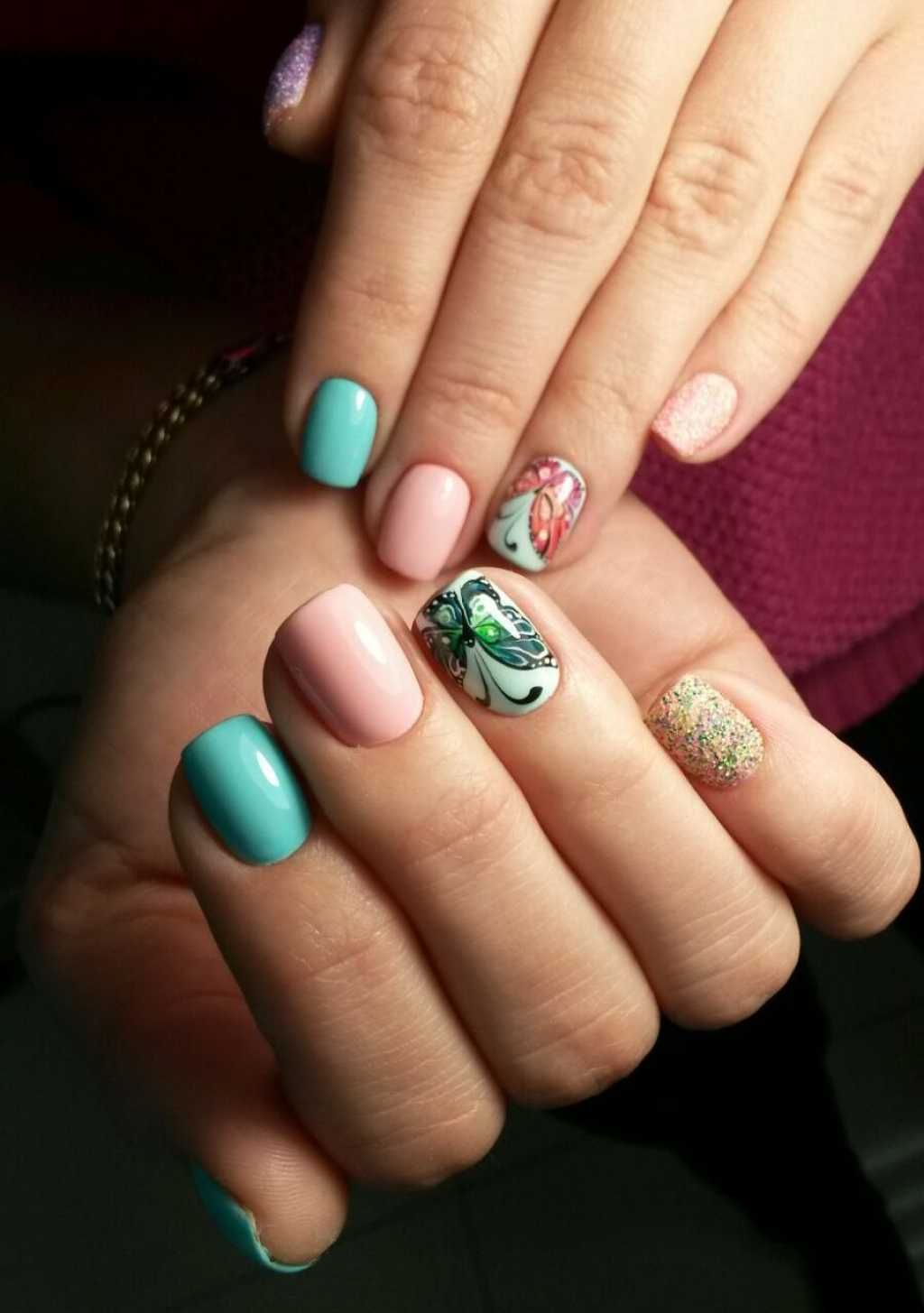 Extraordinary Nail Design With Butterflies One1lady Nail