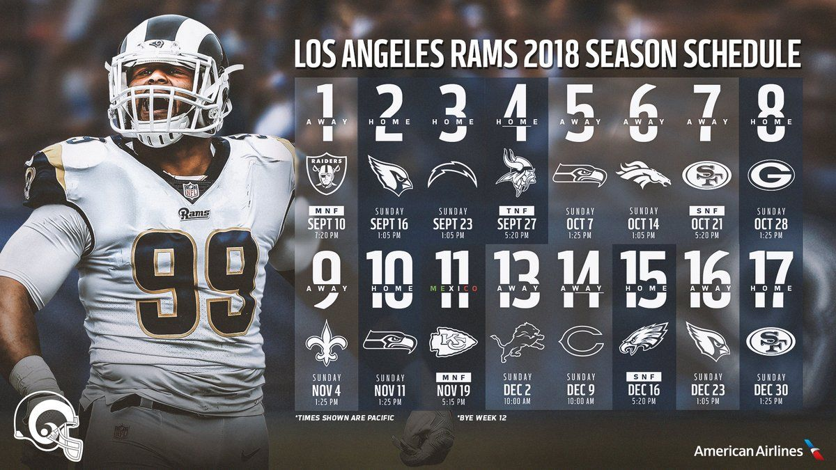 Los Angeles Rams On Twitter Los Angeles Rams La Rams Sean Mcvay