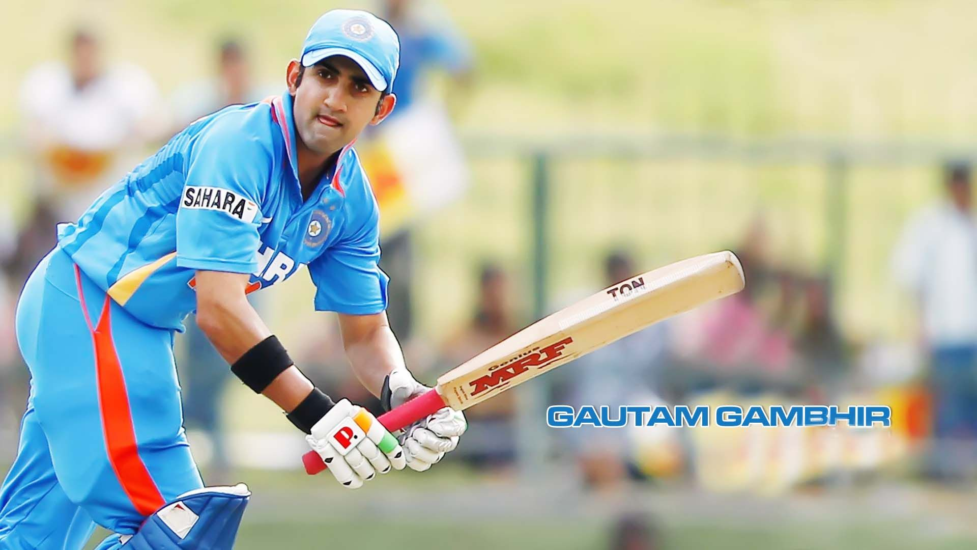gautam gambhir indian cricketer wallpaper indian cricketer