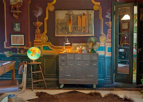 Get The Look Decor: Antique Eclectic
