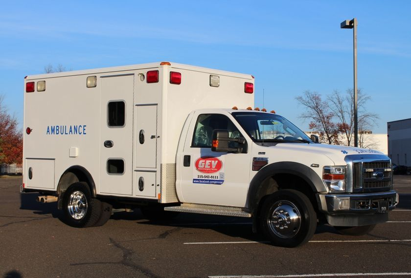 2062 Wheeled Coach 4x4 Ambulance For Sale at GEV | Tow