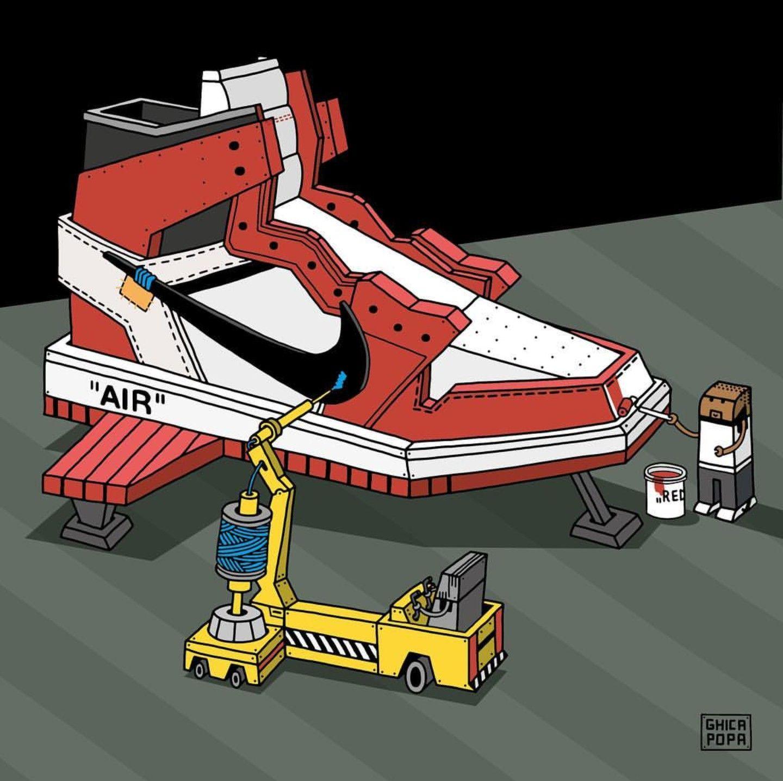 Jordan 1 X Off-white - ghicapopa