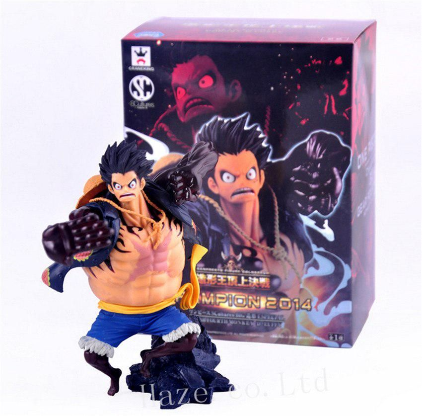 Banpresto One Piece Prize Scultures Zoukeio Vol 4 Luffy PVC Figure