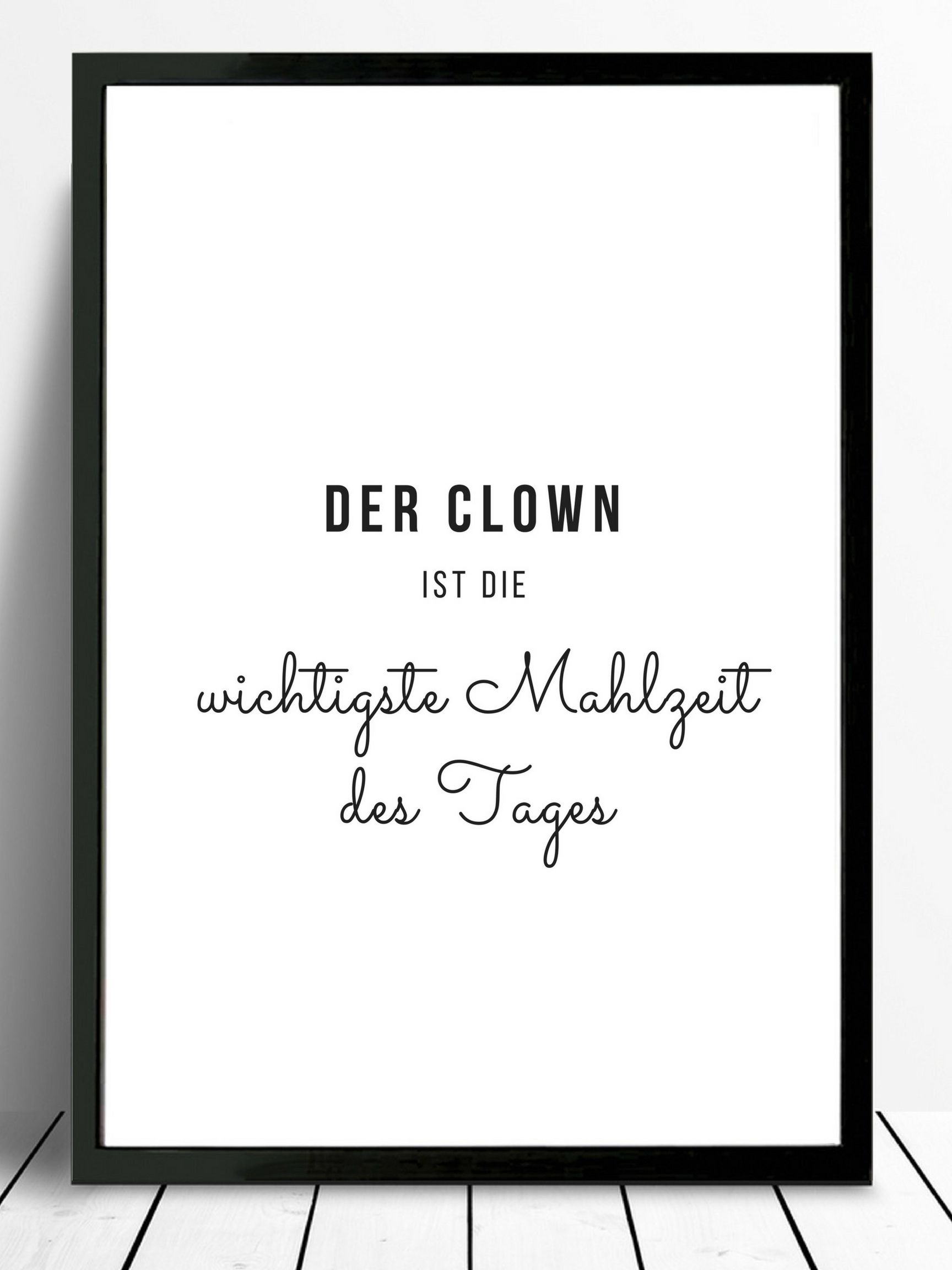 Photo of Poster A4 clown. kitchen Posters
