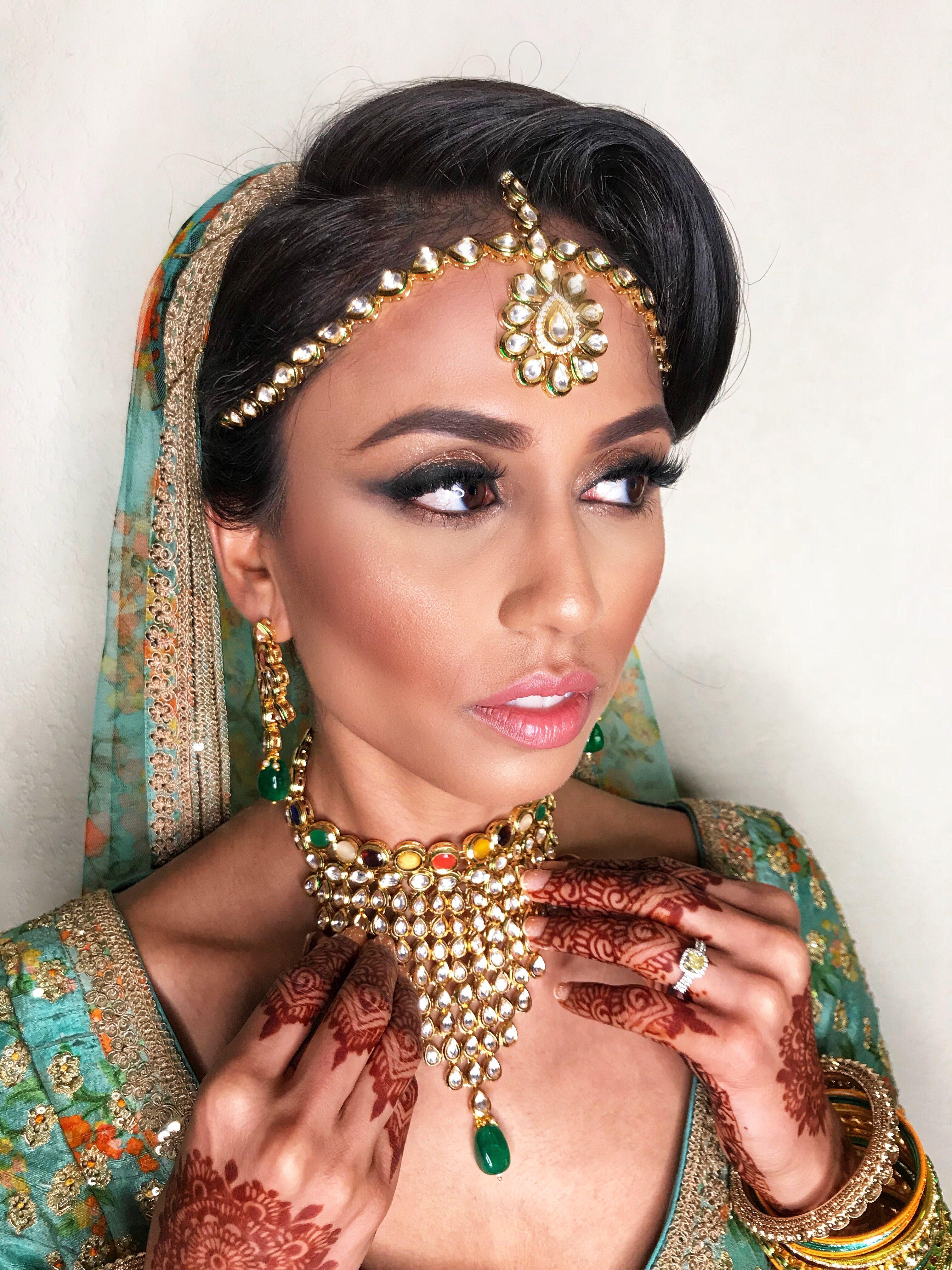 Makeup by Nina Ubhi Bridal makeup artist, Bridal makeup