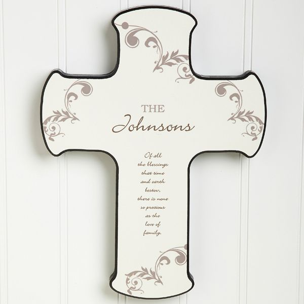 God Bless Our Home Personalized Cross (With Images