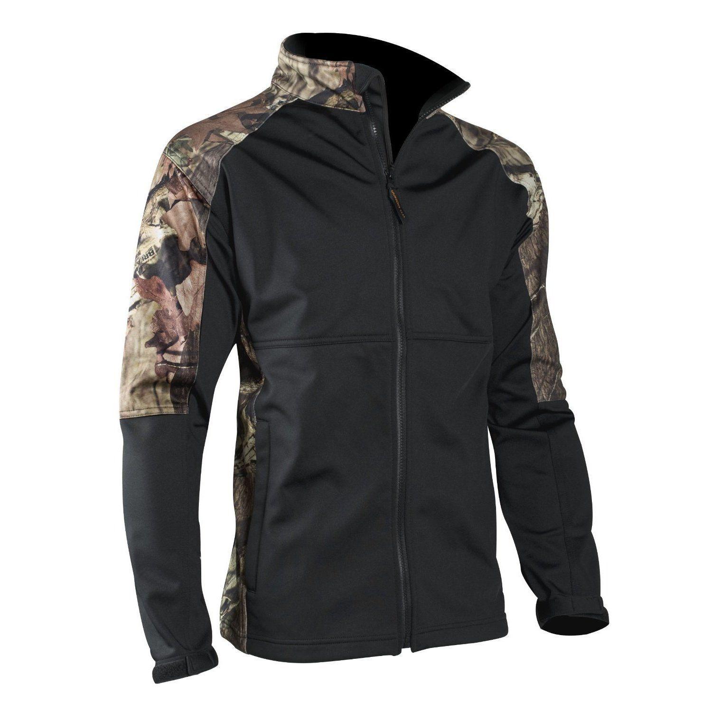 Yukon gear windproof jacket mossy oak break up infinity products