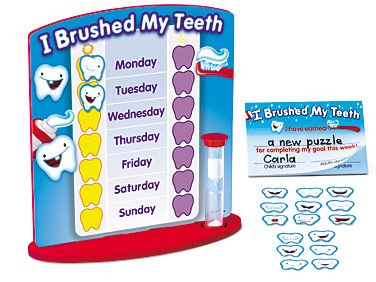 photo regarding Lakeshore Learning Printable Coupons named I Brushed My Enamel! Profit Chart at Lakeshore Mastering