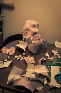3D papermask