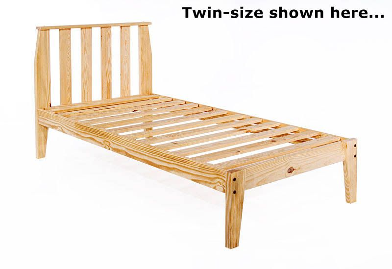Simple Twin Bed Frame Blueprints Twin Mission Platform