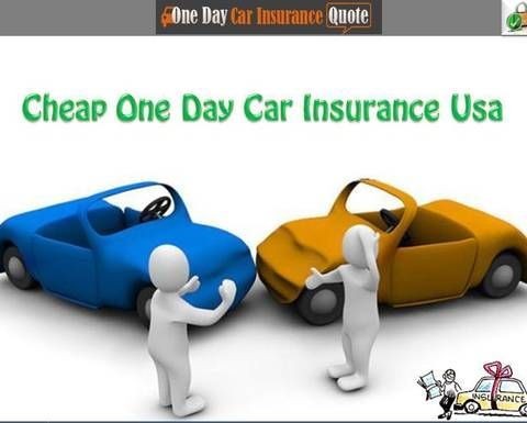 Get Cheap One Day Car Insurance With No Deposit No Credit Check
