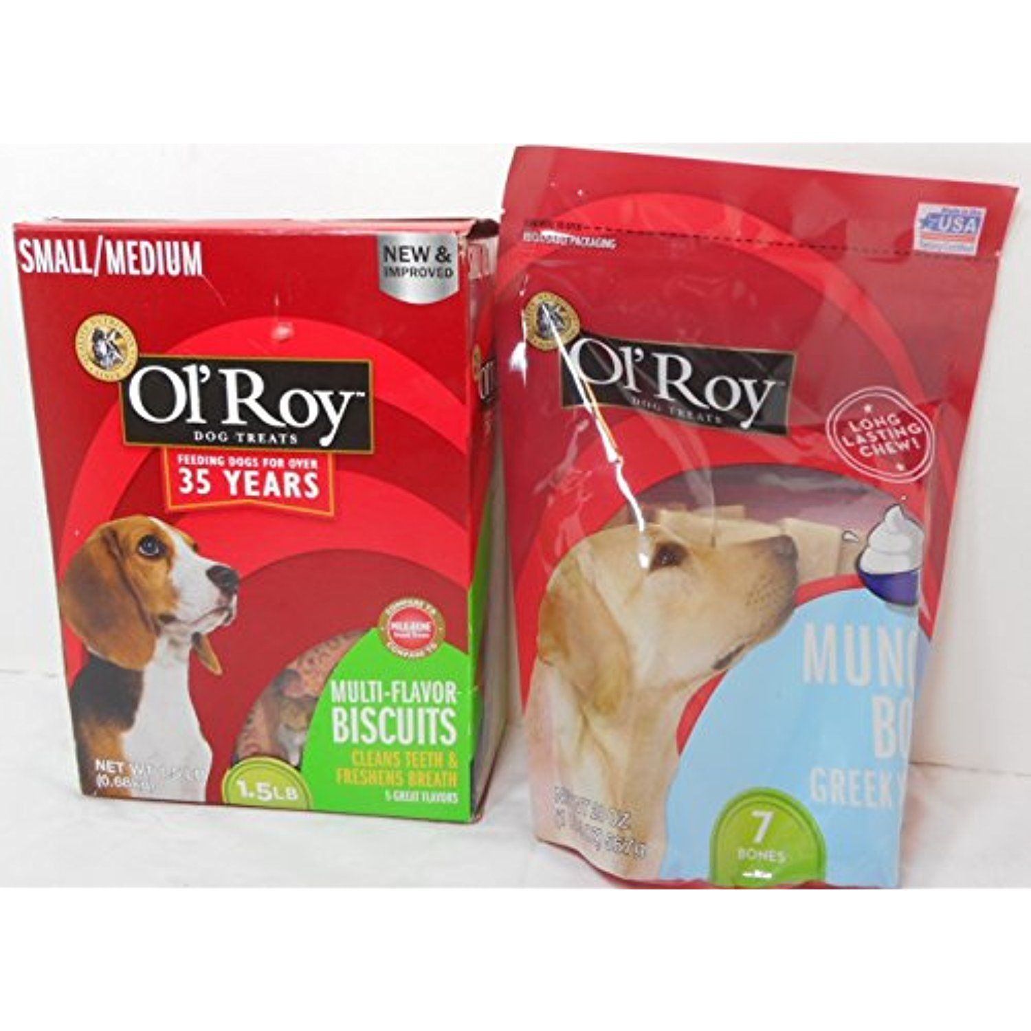 1 5 Lb Pkg Ol Roy Multi Flavor Biscuits Small Medium Ol Roy 20