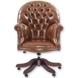 Photo of Executive armchair winner made of real leatherWayfair.de
