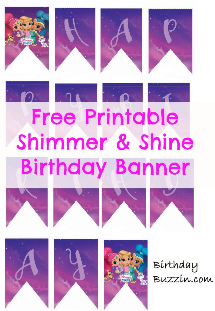 birthday banners free