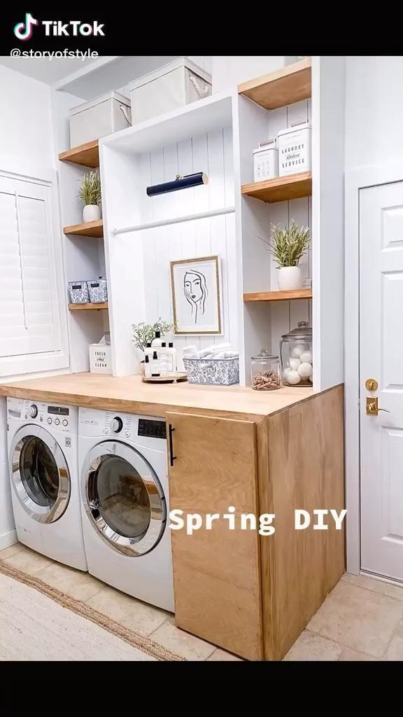Laundry Diy Video In 2020 Laundry Room Renovation Laundry Room Layouts Laundry Room Remodel