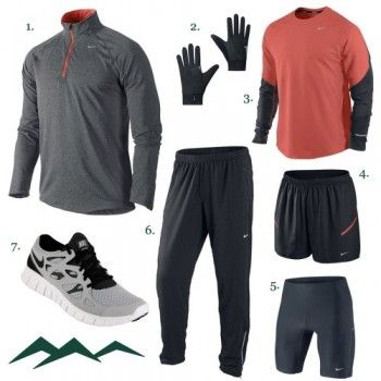 Nike Winter Running Apparel For Men Running Outfit Men