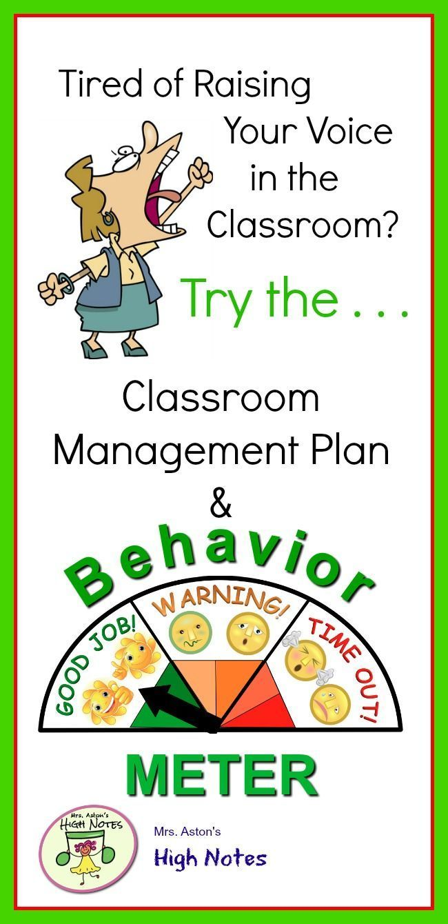 Positive Behavior Classroom Management Plan  Meter  Classroom