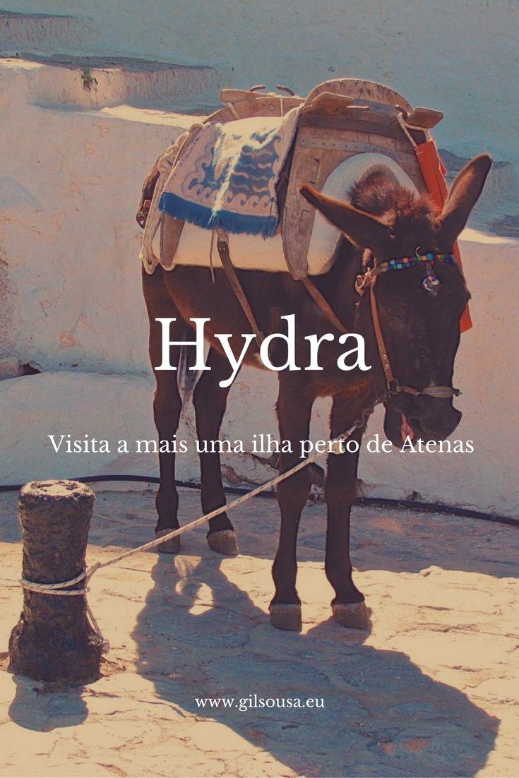 Visitar #Hydra, mais uma ilha grega perto de #Atenas