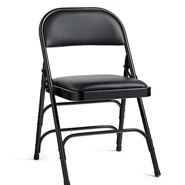Vinyl Padded Steel Folding Chair By
