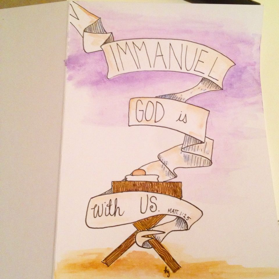 Immanuel god with us christmas card contact haley on etsy immanuel god with us christmas card contact haley kristyandbryce Image collections