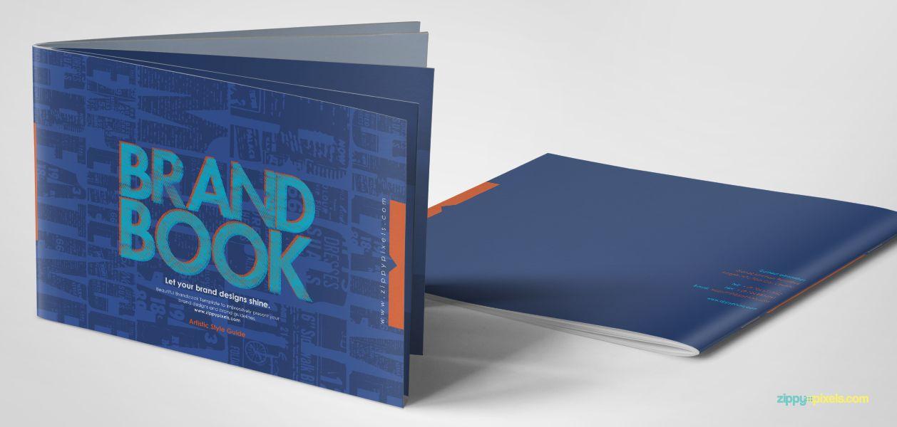 Free Brand Guidelines Template Brandbooks Zippypixels Brand Guidelines Template Brand Guidelines Guideline Template