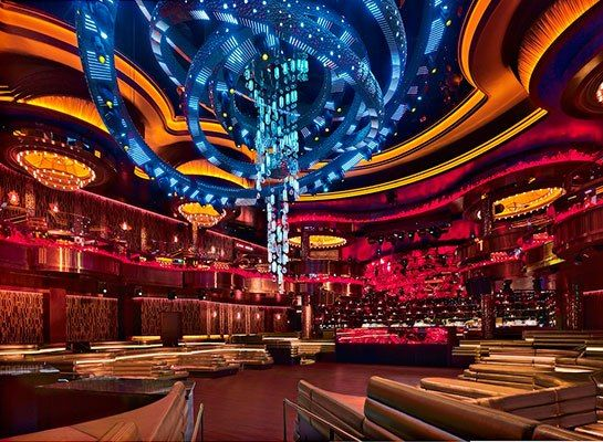 Rockwell Group Designs A Las Vegas Nightclub That Morphs To The Music Hotels Pinterest