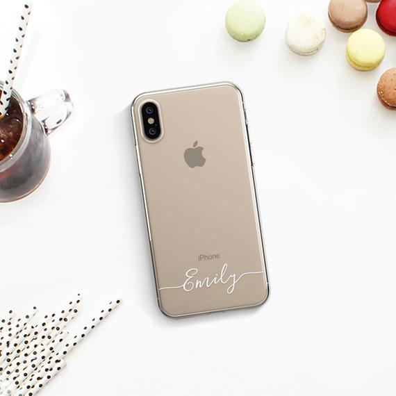 premium selection 58e05 366d2 Name iPhone XS Max Case Custom iPhone X Case Personalized iPhone 8 ...