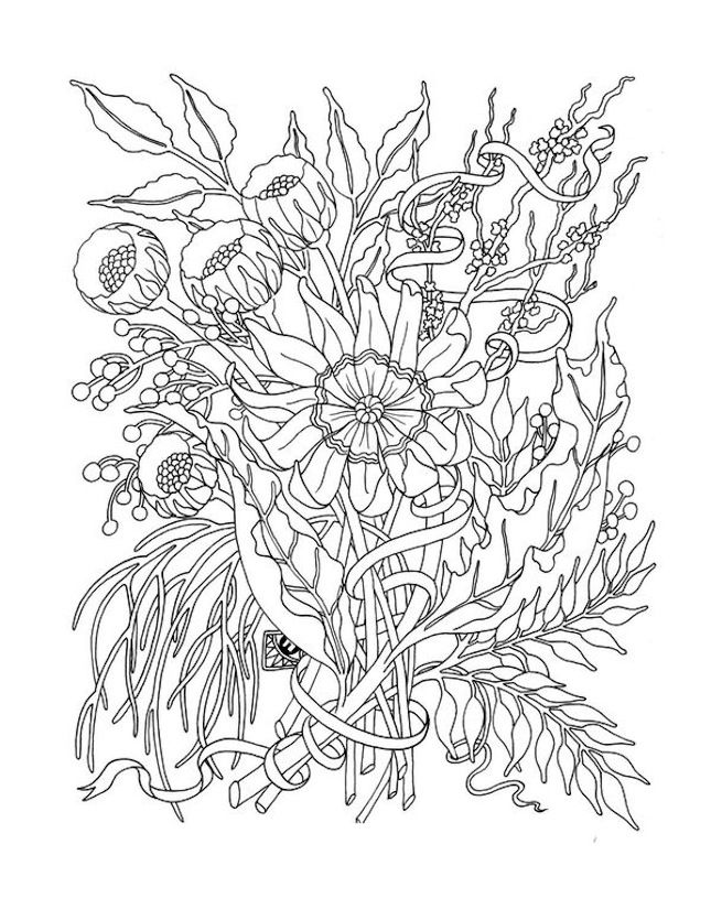 5 Free Coloring Printables Because Coloring Is The New Meditation Printable Flower Coloring Pages Flower Coloring Pages Coloring Pages