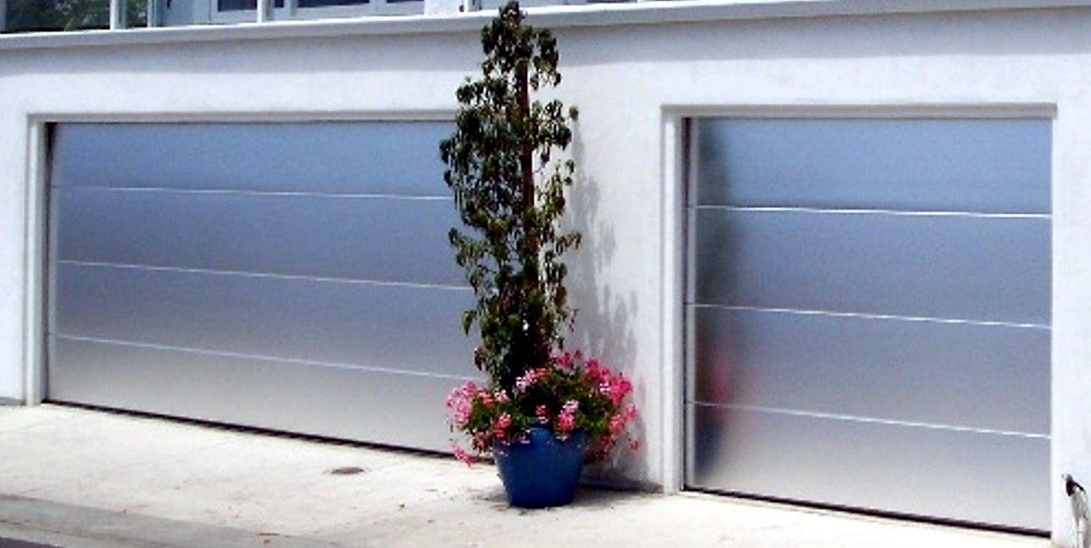 Brushed Aluminum Garage Doors Interesting Garage Doors
