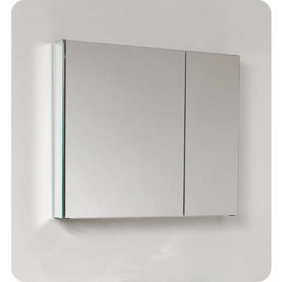 Home Depot Medicine Cabinet With Mirror Gorgeous Fresca  30 Inch Wide Bathroom Medicine Cabinet With Mirrors