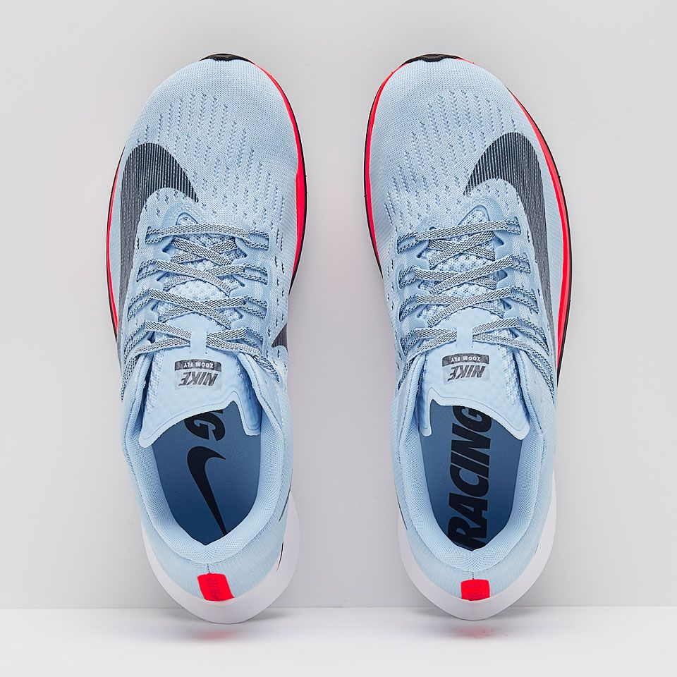 0d2b5cdb56144 Nike Zoom Fly - Ice Blue Blue Fox Bright Crimson