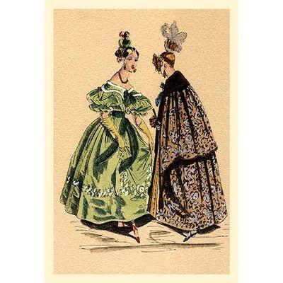 Buyenlarge Chatting Ladies Painting Print