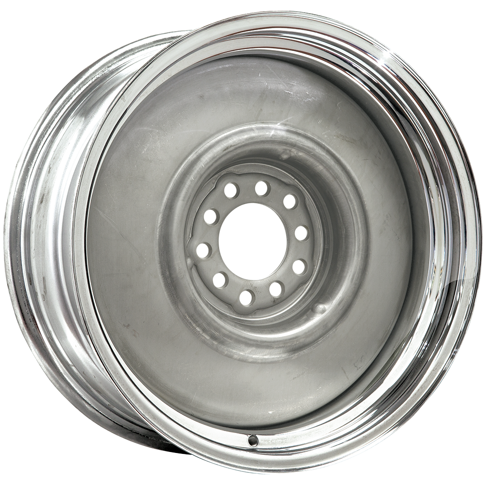 17x7 Nurodder Chrome Outer Bare Center 5x4 5 5x4 75 Bolt Chevrolet Nova Nova Car Chevrolet