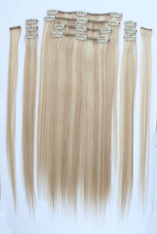 Straight clip in hair extensions 60 light blonde extensions straight clip in hair extensions 60 light blonde pmusecretfo Gallery
