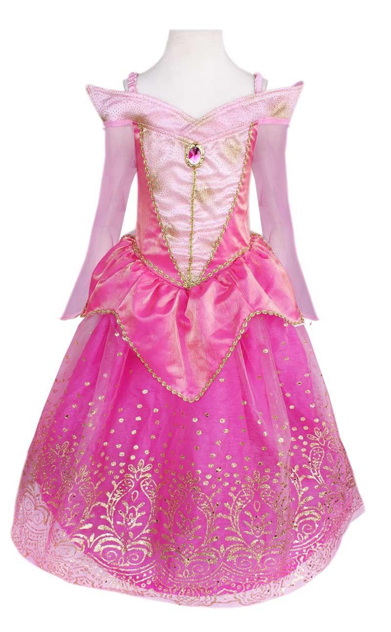 La Bella Durmiente Aurora vestido de la princesa regalo de la corona ...