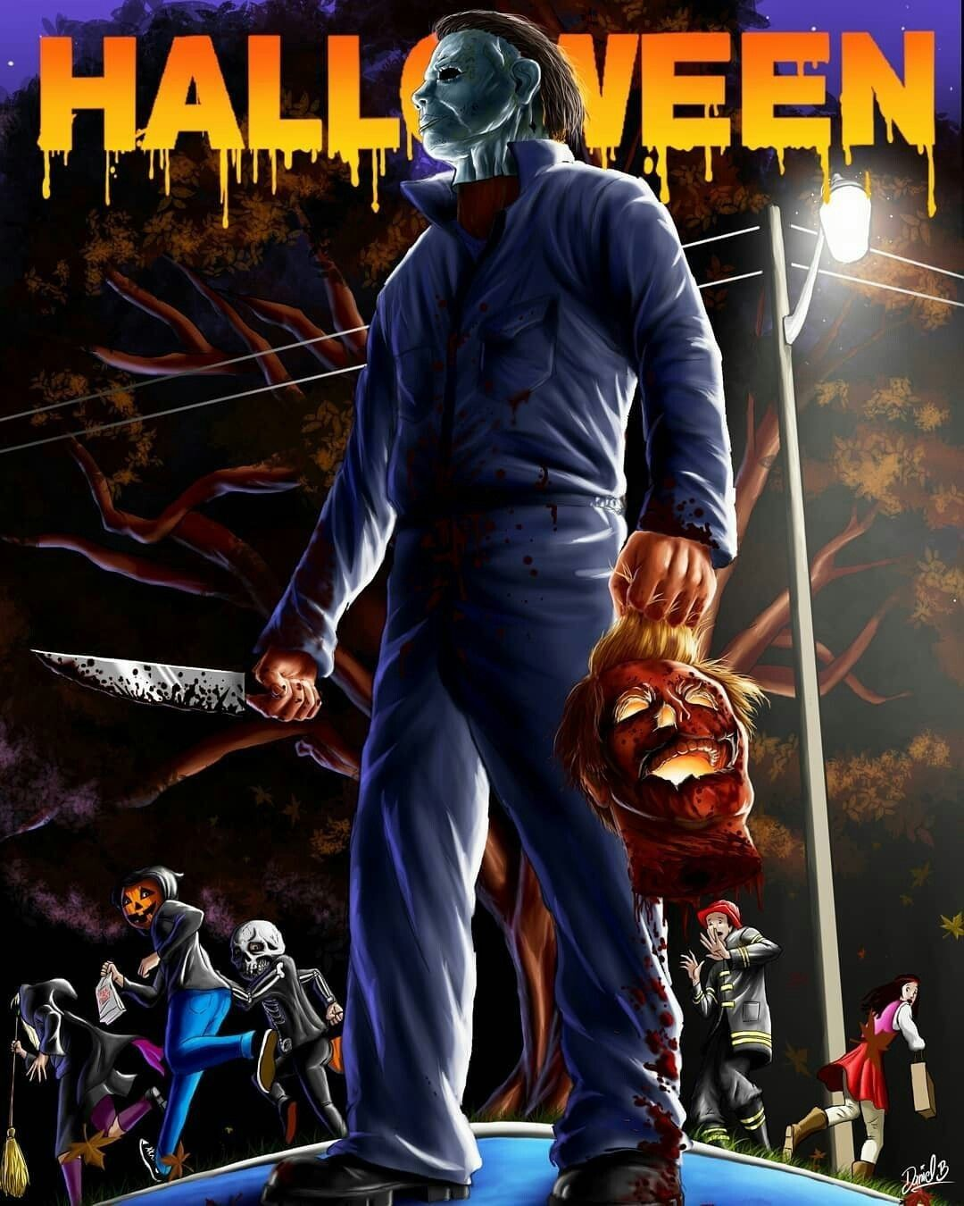 NOBODY can kill Michael Myers!!!!😣🎃🔪😈 Michael myers art